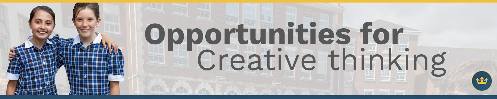 opportunities for creative thinking